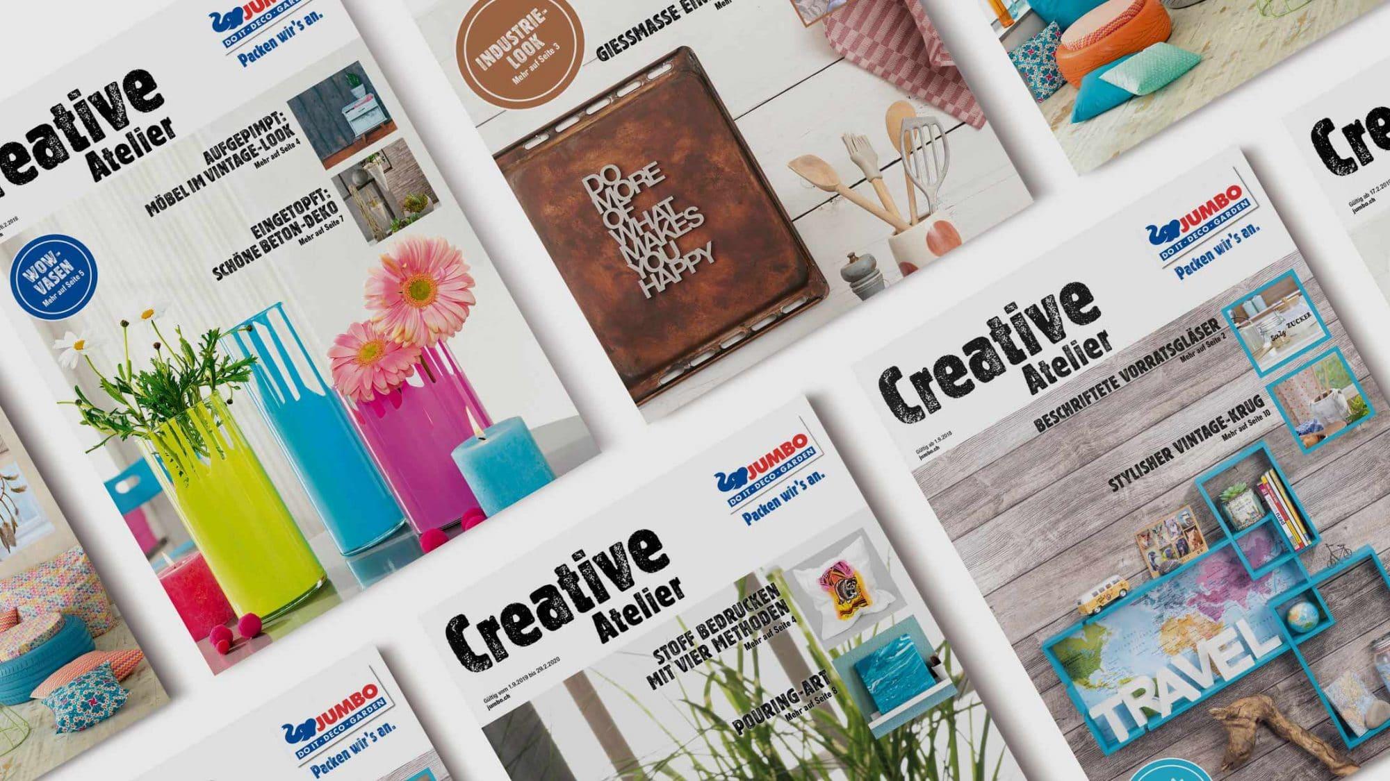 Broschüre Creative Atelier von Jumbo