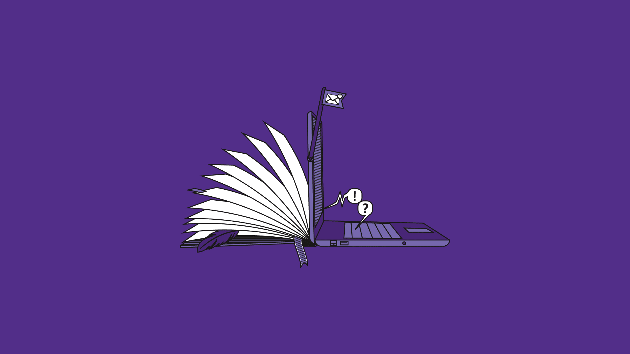 Illustration Redact Content Marketing