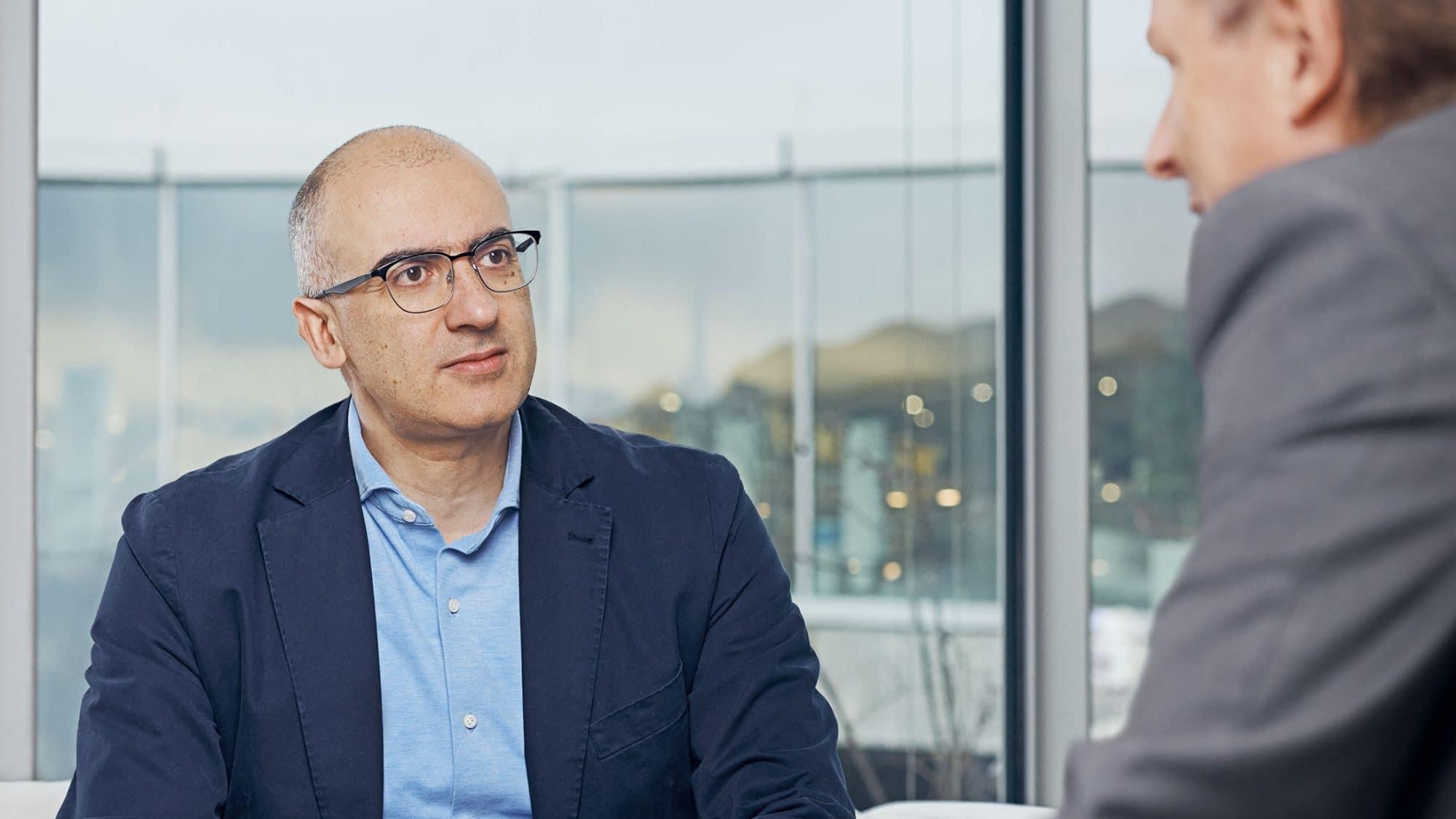 Mario Paolone im Interview mit Smart-Redaktor Andreas Turner